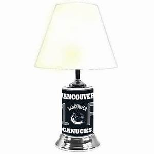 logo chair nhl vancouver canucks table lamp walmart canada With table lamp vancouver bc