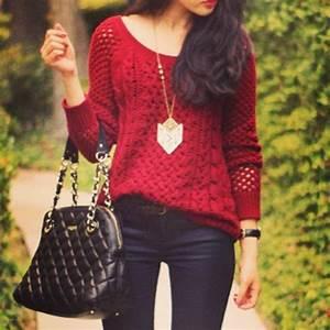 Suu00e9ter Rojo | Outfit | Pinterest