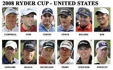 Ryder Cup 2008: 'I fancy Stars and Stripes for Louisville ...