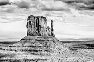 Monument Valley Drawing by John Haldane