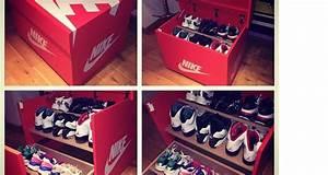 Boite De Rangement Chaussure : boite a chaussure air jordan geante ~ Dailycaller-alerts.com Idées de Décoration
