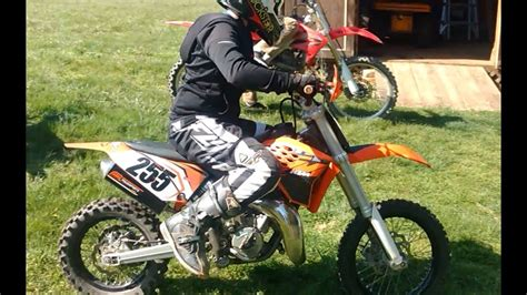 Ktm 65 Top Speed With Fmf Exhaust (10 Yr Old Rider)