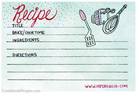 cool recipe cards kittybabylovecom