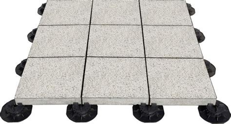 Adjustable Plastic Pedestal For Outdoor Stone And Concrete