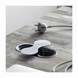Prise A Encastrer : bloc prise eight rotation accessoires cuisines ~ Premium-room.com Idées de Décoration