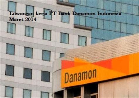 lowongan kerja internal audit pt bank danamon indonesia