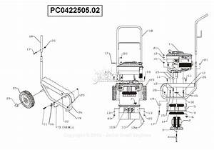 Powermate Formerly Coleman Pc0422505 02 Parts Diagram For