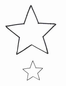small star shape clipart best With small star template printable free