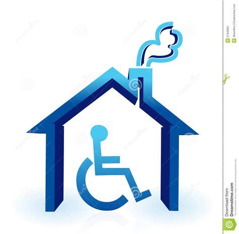 maison d handicap image stock image 27946661
