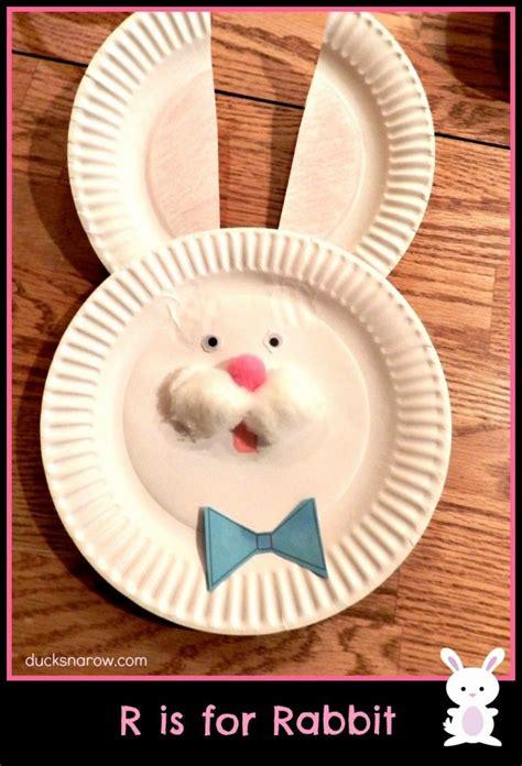 R Is For Bunny Preschool Craft  Ducks 'n A Row