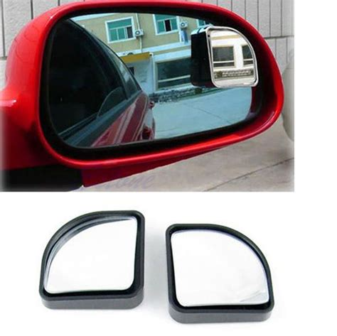 pair blind spot mirror convex wide angle rear side view  car vehicle ebay