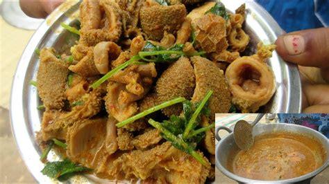 cooking goat intestine curry recipe amazing taste recipe
