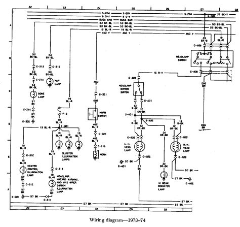 77 Bronco Wiring Diagram by 1974 Bronco Wiring Diagram Wiring Library