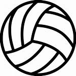 Volleyball Transparent Clipart Ball Icon Svg Clip