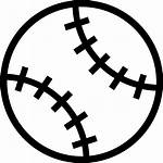 Baseball Outline Clipart Svg Icon Ball Stitch
