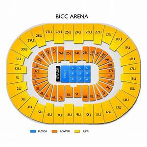Bjcc Seating Chart With Seat Numbers