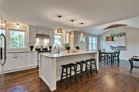 Modern Center Island Designs For Kitchens — Railing Stairs