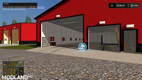 Garage Farm by Mill Farms Version Mod Farming Simulator 17