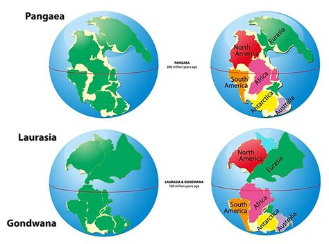 What Is A Supercontinent And A Superocean? - WorldAtlas