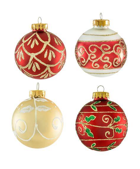 holiday traditions ornament set tree classics