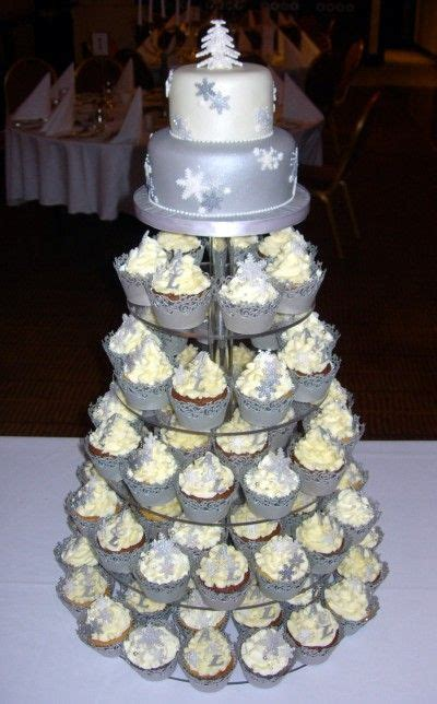 winter wedding cupcakes ideas  pinterest