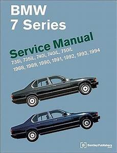 Bmw 7 Series  E32  Service Manual  735i  735il  740i
