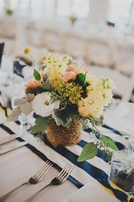 Nautical Wedding Flower Arrangements