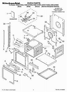 Kitchenaid Kebc107kss0 Parts List And Diagram