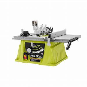 Ryobi 15 Amp 10 In  Table Saw-rts10ns