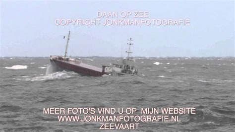 Boten Op De Noordzee by Schepen Op Zee 1 Dag Na De Storm Youtube