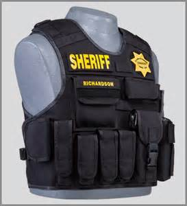 Tactical Police Outer Vest Carrier
