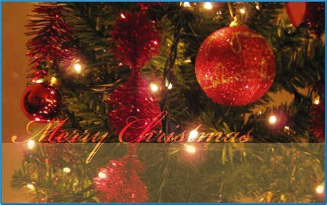 christmas tree lights screensaver download free