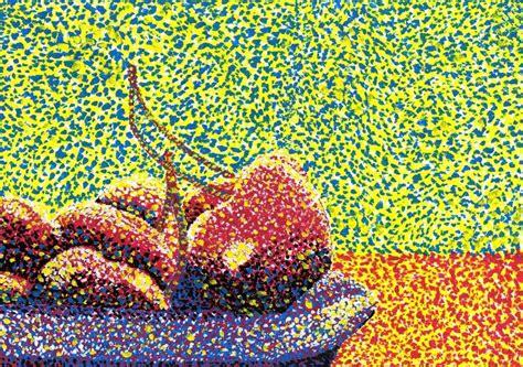 art studies colour study optical colour mixing