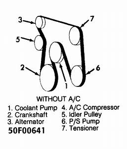 1994 Chevy Silverado Serpentine Belt Diagram