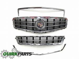 Oem New Front Chrome Grille Package 2013