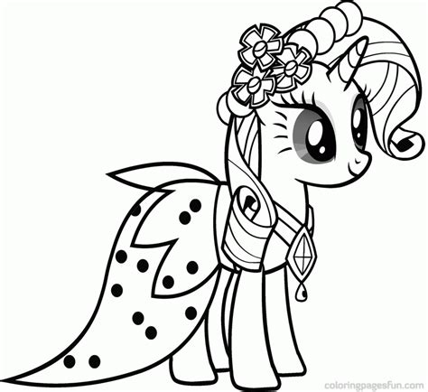 Coloring Picture For Kid by My Pony Coloring Page Coloring Home