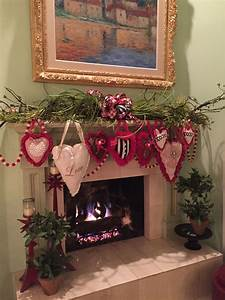 Pinterest Decoration : the chic technique valentine 39 s day fireplace mantel decor valentine 39 s day valentines ~ Melissatoandfro.com Idées de Décoration