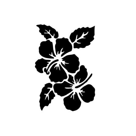 reusable stencil hibiscus pc