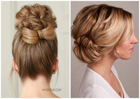elegant prom hairstyles  long short hair