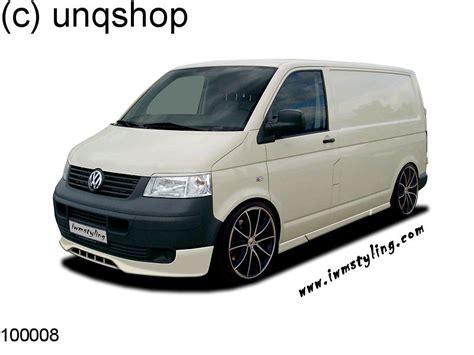 vw t5 transporter front bumper spoiler splitter add ebay
