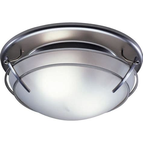 decorative bathroom fan with light broan decorative satin nickel with frosted glass shade 80