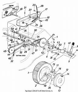Mtd 8007 Mtd Mdl 127 8007  1987  Parts Diagram For