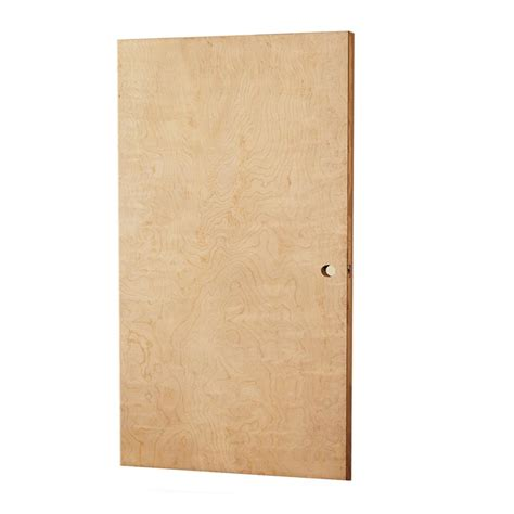 home depot solid wood door l i f industries 32 in x 79 in smooth flush birch solid