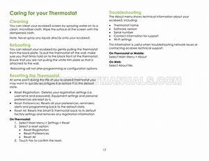 Ecobee Ecobee3 Thermostat User Guide