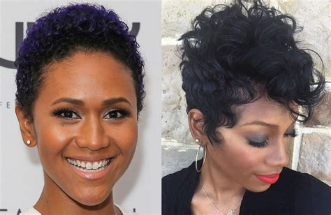 2018 Short Pixie Haircut Images And Hair Colors For Black