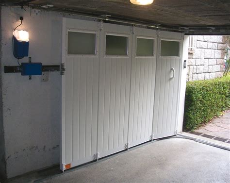 pose de porte de garage  deplacement lateral devis pour