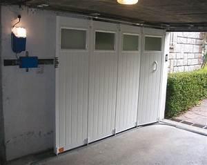 porte de garage a deplacement lateral pose et renovation With porte de garage enroulable et fabriquer porte en bois