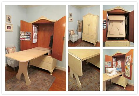 diy sewing cabinet plans how to convert an antique armoire into a sewing
