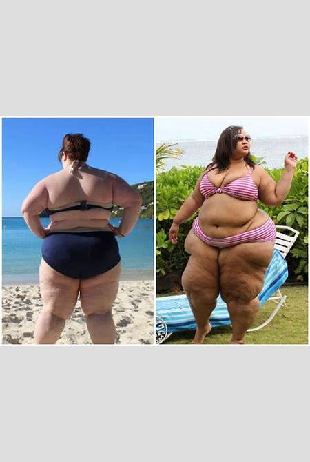 Fat Girl Flow blogger shares bikini pictures and video jumping in pool to stop stigma | UK ...