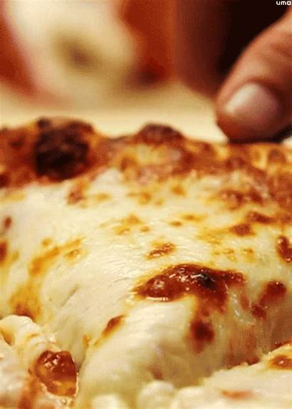 Pizza Cheese Gifs Hungry Alone National Everything
